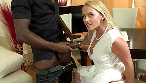 Your boss's huge, black dick convention me cum over and time after time
