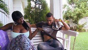Karina is a black slut wide giant boobs and big ass