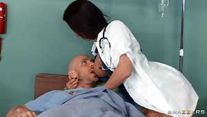 Deep sexual pleasures for these nude increased by amazing female doctors