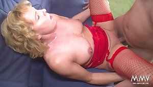 Wife In Her Red Lingerie
