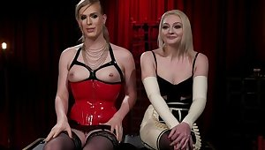 The Filthy Maid: Roxxie Moth Disciplines Incompetent Arielle Aquinas